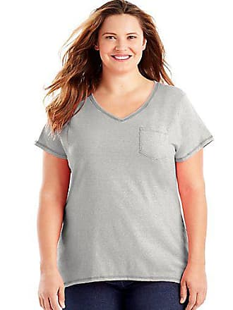 bf6e8ed70 Just My Size® V-Neck T-Shirts: Must-Haves on Sale up to −50% | Stylight