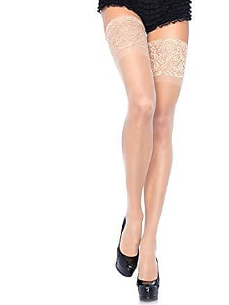 d2cab6509 Leg Avenue Womens Stay-Up Lace Band Top Thigh Highs