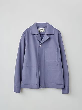 Acne Studios FN-MN-OUTW000068 Cold Lilac Cotton twill jacket