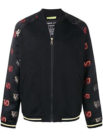 2f8bd2c15e73 Versace Jeans Couture veste bomber à motif en jacquard - Noir