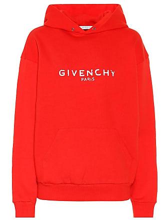 712f153e4e3 Givenchy Sweat-shirt à capuche en coton imprimé