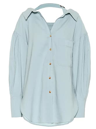 Rejina Pyo Alicia cotton and linen-blend shirt