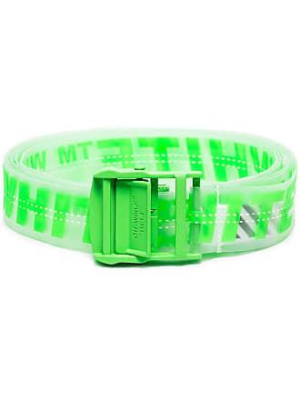 Off-white Cinto transparente com logos - Verde