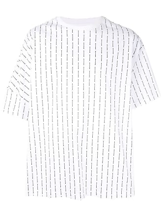 Wooyoungmi Camiseta oversized com logo - Branco