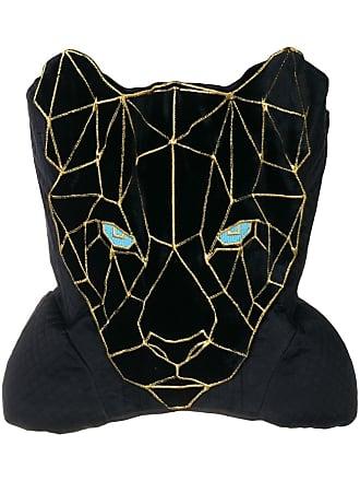 Yuliya Magdych panther corset - Black