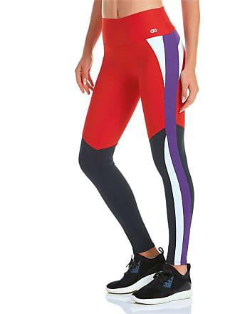 Alto Giro Calça Legging Alto Giro Blend Vermelha G