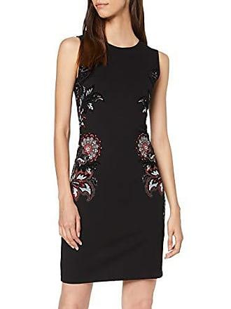 dab309c324c4 Desigual Dress Denis Vestito, Nero (Negro 2000), Large Donna
