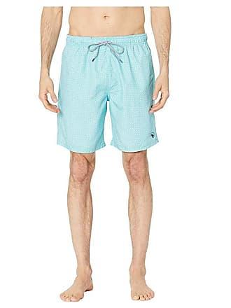 a34de303bb Ted Baker Alantic Geo Print Midi Swim Shorts (Turquoise) Mens Swimwear