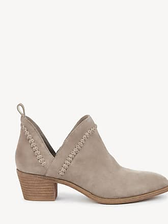 Sole Society Womens Nikkie Braided Bootie Taupe Size 6.5 Suede From Sole Society