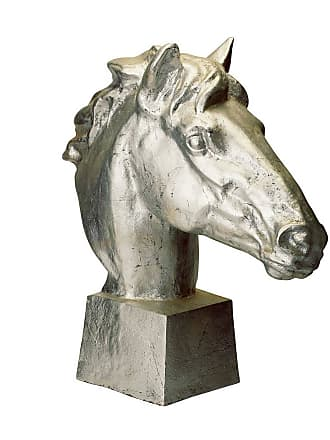 Dimond Home ELK Home Gilded Gilded Age Horse Head in Distressed Silver
