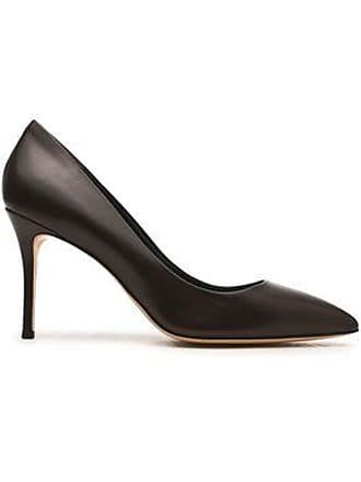 Giuseppe Zanotti Giuseppe Zanotti Woman Lucrezia Leather Pumps Dark Brown Size 37.5