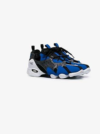 Reebok black and blue 3D Op. 98 low top sneakers