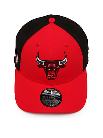 edb7fa0bc2f6f New Era Boné New Era Fitted Chicago Bulls Vermelho