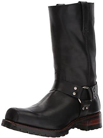 Frye Mens Addison Lug Harness 12r Boot, Black, 10.5 D US