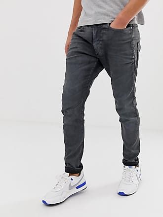 G-Star D-Staq 3d skinny fit jeans in dark aged cobler - Blue