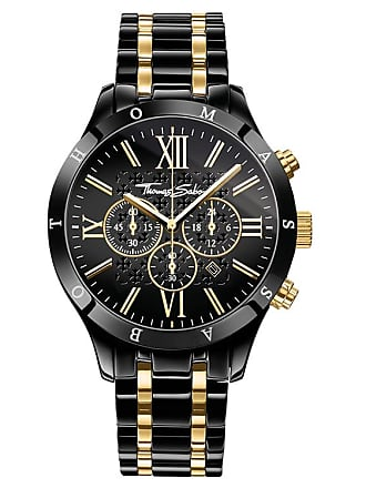 Thomas Sabo Thomas Sabo Mens Watch black WA0264-278-203-43 MM