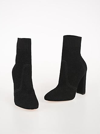 Gianvito Rossi 10 cm Stretch Fabric ISA Boots size 37,5