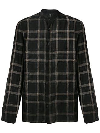 Transit Par-Such Camisa xadrez - Preto