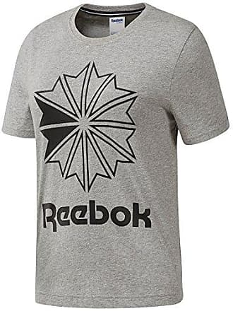 bb530a03c Reebok Womens Big Logo Graphic Tee, Medium Grey Heather, S/P