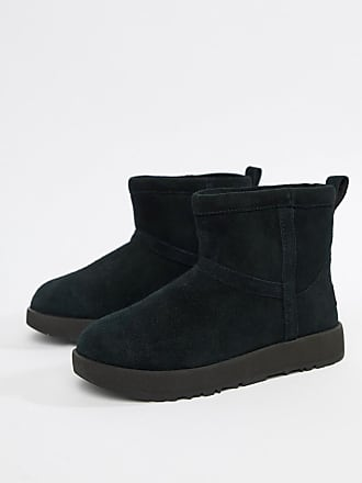 29345458edf UGG Ugg - Classic Mini - Svarta vattentäta boots - Svart