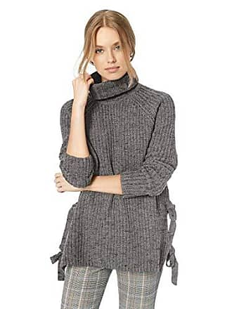 UGG Womens W CEANNE Turtleneck Sweater, Grey Heather, M