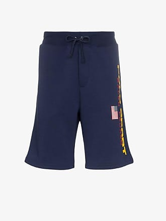 Polo Ralph Lauren navy blue logo print track shorts