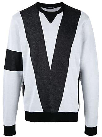 Loveless Suéter color block - Cinza