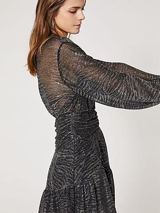 Iro GESTA DRESS - BLACK LUREX