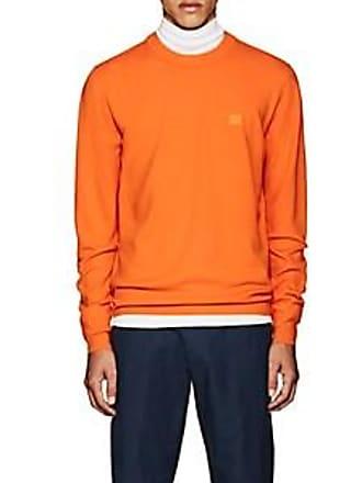 7e2e5b12278a6 Acne Studios Mens Nalon S Emoji Wool Sweatshirt - Orange Size M