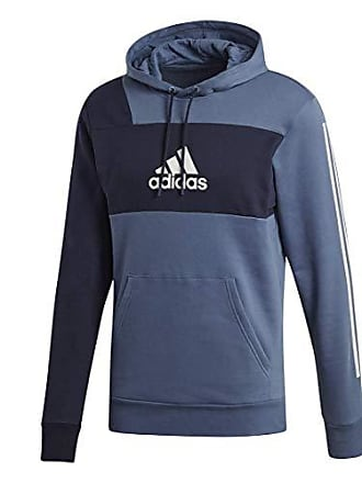 7aaf6888d adidas Mens Id Pull Over Sweatshirt Brnd Sweater, Tech Ink/Legend Ink, M