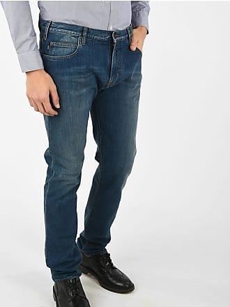Armani JEANS 19cm Stretch Denim Slim Fit Jeans L 34 Größe 27