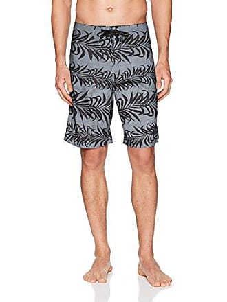 Body Glove Mens Microfiber 21 inch Boardshort Board Short, Charcoal, 38