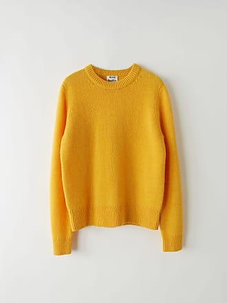 Acne Studios Kai Honey yellow Classic sweater