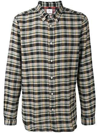 Paul Smith Camisa xadrez - Marrom
