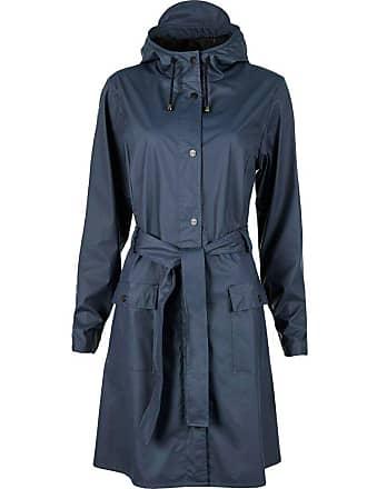Rains Rains Waterproof Curve Jacket   Blue   XXS/XS