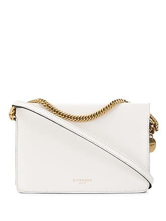 Givenchy Clutch texturizada - Branco
