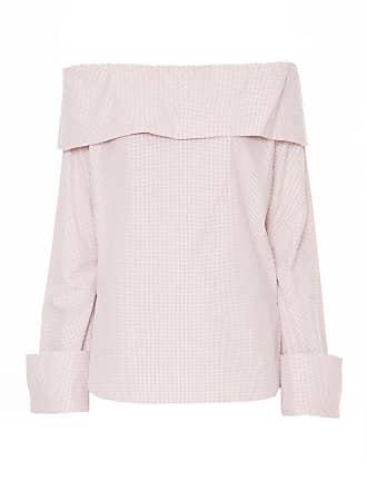 Framed Blusa ombro a ombro - Off White