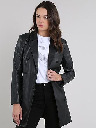 C&A Casaco Trench Coat Feminino Mindset com Cinto Preto