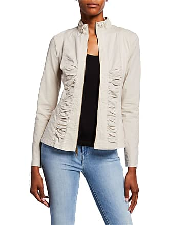 Xcvi Agnese Ruched Lace-Up Jacket