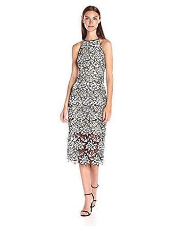 14e161a33de5 Keepsake the Label KF160502D-Vestito Donna Multicolore (Ivory Black) 40  (Taglia