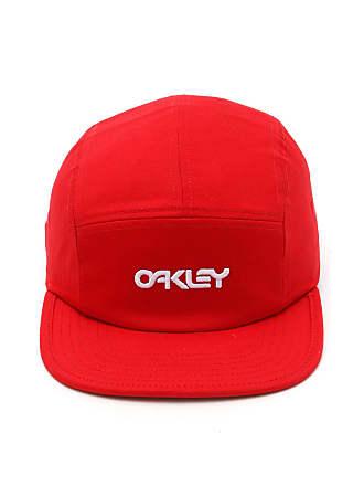 8af694efbfb18 Oakley Boné Oakley Strapback 5 Panel Hat Vermelho
