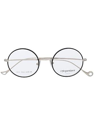 Eyepetizer Armação de óculos redonda - Preto