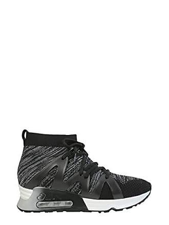 c2037d3cb42b4d Ash Damen Lianna03 Schwarz Polyester Hi Top Sneakers