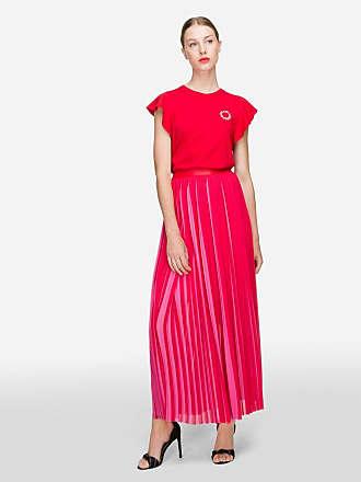 Karl Lagerfeld Pleated Maxi Skirt