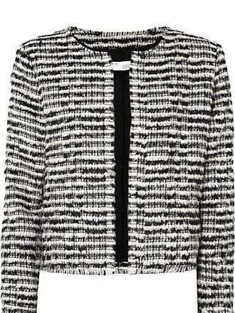 Iro Emotion Cropped Wool-blend Bouclé Jacket - Black