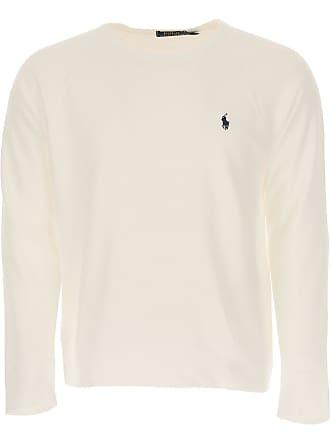 f0f6fa59c29d Ralph Lauren Felpa Uomo On Sale, Bianco, Cotone, 2017, L S XL XXL