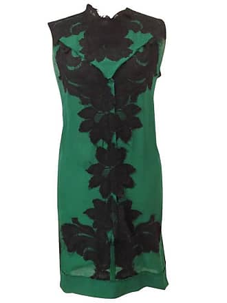 99a2b4c4f3 Lanvin Sleeveless Cocktail Dress les 10 Ans In Black And Green Silk Size  36fr