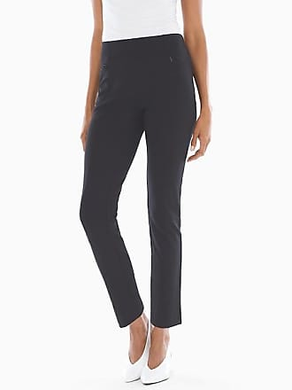 Soma Style Essentials Smoothing Ponte Pants Black, Size XS