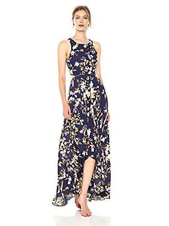 279b96bb11d Ali   Jay Womens Bohemian Rhapsody Floral Printed Cut-Out Hi-Lo Maxi Dress