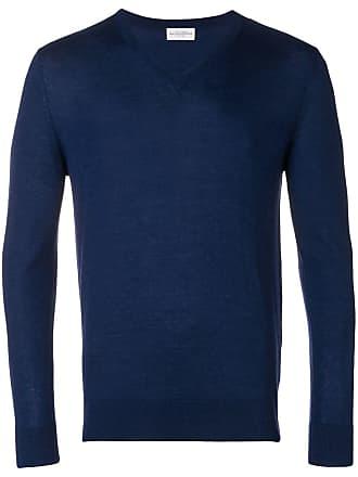 Ballantyne Suéter decote V - Azul